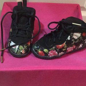 Brand new colorful Jordan's full of flowers!
